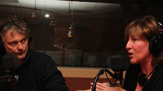 Normand D'Amour et Catherine Goldschmidt | @Radio-Canada/C�cile Gladel