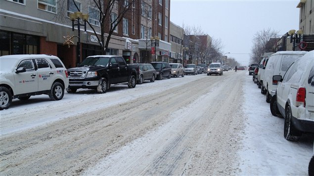 Plusieurs routes sont couvertes en Abitibi-Témiscamingue.
