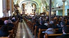 Les funérailles du pompier volontaire de Clarence-Rockland, Nicholas Vachon, ont eu lieu samedi.