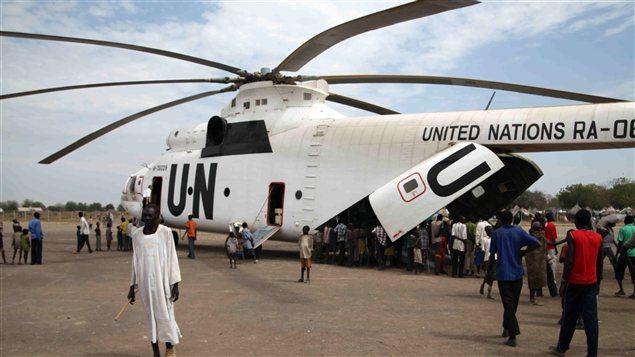Hélicoptère de l'ONU au Soudan du Sud (archives)