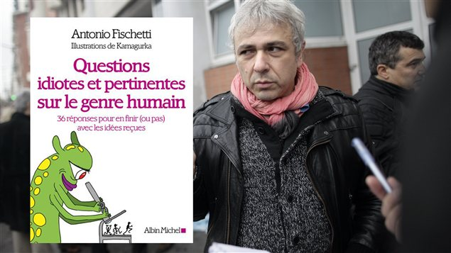 Antonio Fischetti, auteur de <em>Questions idiotes et pertinentes sur le genre humain</em> |© Alexander Klein / AFP