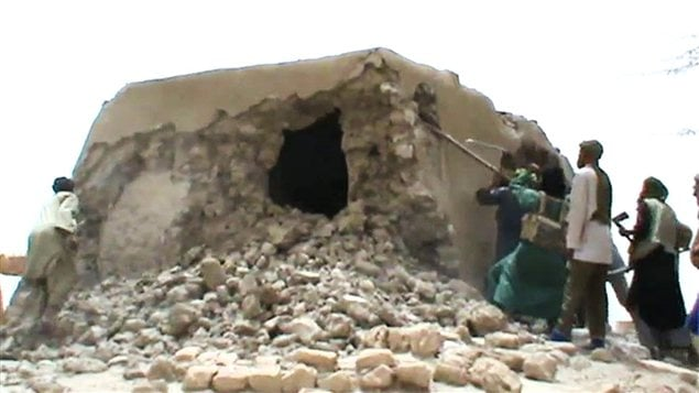 Destruction des mausolées de Tombouctou