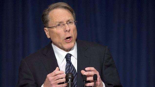 Le vice-président de la NRA, Wayne LaPierre
