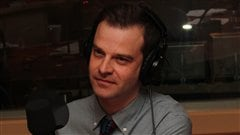 Stéphane Leclair. Radio-Canada/Cécile Gladel
