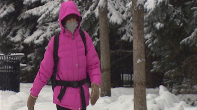 Le temps glacial à Calgary