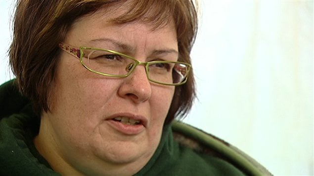 Theresa Spence, la chef de la communaut� d'Attawapiskat