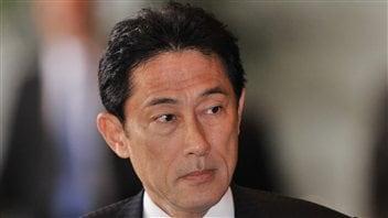 Le nouveau ministre des affaires étrangères du Japon, Fumio Kishida