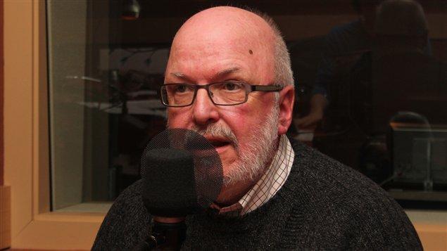 Marc Labelle. Radio-Canada/C�cile Gladel