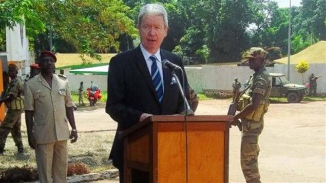 L'ambassadeur de France en Centrafrique, Serge Mucetti