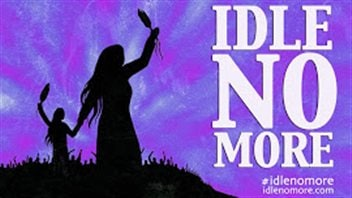 Logo Idle no more