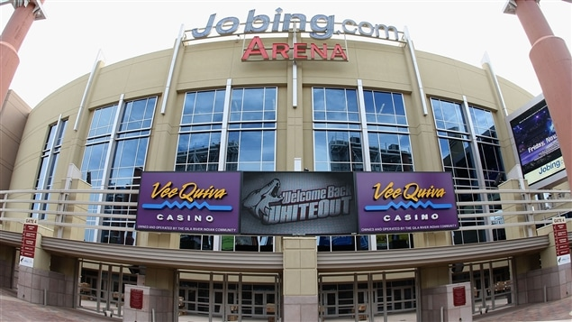 Le Jobing.com Arena à Glendale, en Arizona