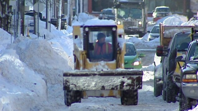 Le ramassage de la neige s'échelonnera sur plusieurs jours à Sherbrooke.