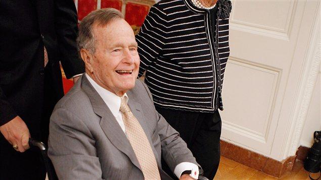 George H.W. Bush en mai 2012.