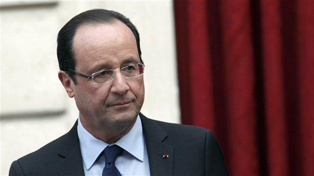 Le président français, François Hollande