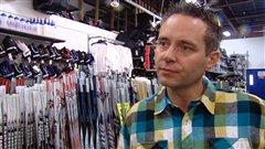 Éric Corcoran, pdg de Sport Échange Outaouais