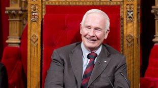Le gouverneur général David Johnston