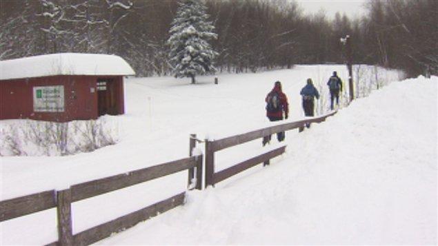 Le Centre de ski de fond Richmond-Melbourne offre 44 kilomètres de sentier