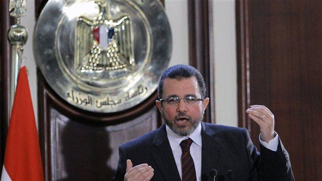 Le premier ministre d'Égypte, Hesham Kandil