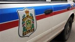 Une voiture de la police de Saskatoon.
