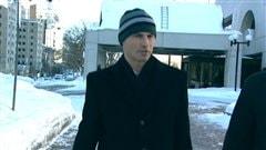 Steven Desjourdy lors de la reprise de son procès en janvier 2013.