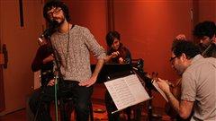 Philippe B et le Quatuor Molinari  �Radio-Canada/Marie-Sandrine Auger
