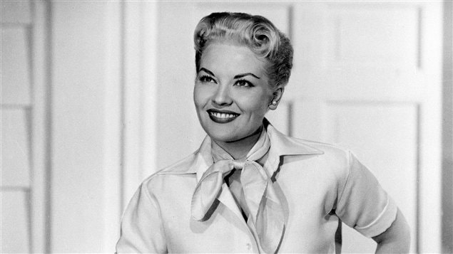 La chanteuse Patti Page