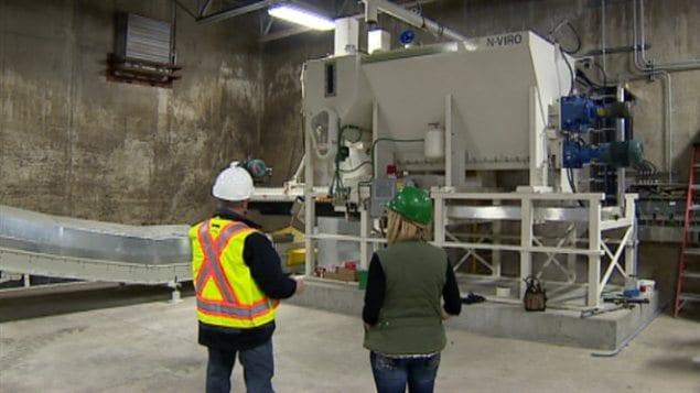 Usine en pleine transformation pour produire de l'engrais de qualité à Banff
