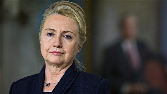 Hillary Clinton lors d'une conférence de presse à Washington, en novembre 2012
