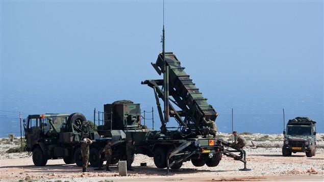 Station de lancement de missiles Patriot (archives de l'OTAN)