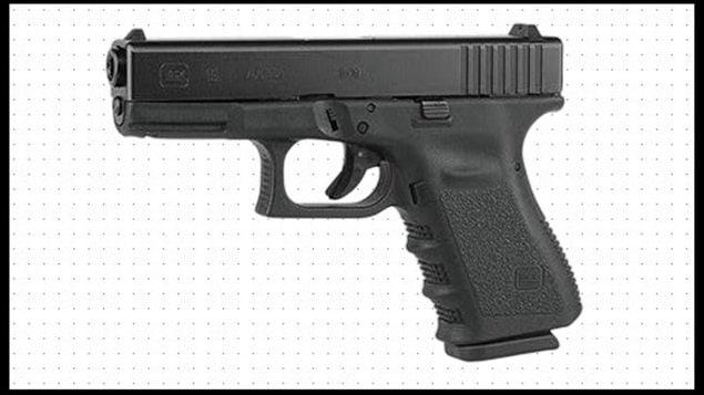 Glock 19 cadre arme pistolet
