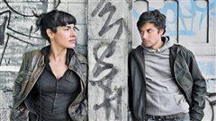Marie-H�l�ne Thibault et Mikha�l Ahooja, interpr�tes de la pi�ce <em>Pervers</em> | � Rolline Laporte