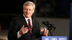 Le premier ministre Stephen Harper