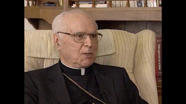 Mgr Joseph Aurèle Plourde a été archevêque d'Ottawa pendant vingt ans.