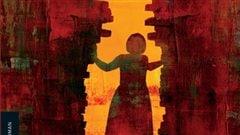 Image tir�e de la couverture du roman <em>Au temps des loups de Staline</em>, de Mario Pelletier