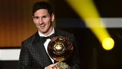 Lionel Messi a remport� son quatri�me Ballon d'or