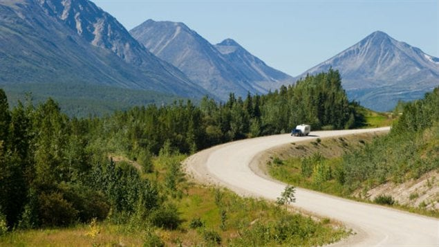 route de l'Alaska au Yukon
