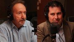 Yves Bernard et Vincent Frigon  �Radio-Canada/Marie-Sandrine Auger