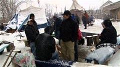 La chef autochtone d'Attawapiskat, Theresa Spence, continue de recevoir des appuis d'un peu partout.