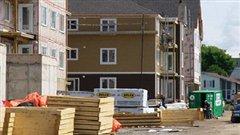 Maisons en construction
