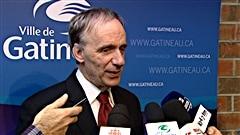 Le maire de Gatineau, Marc Bureau.
