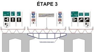 Étape 3 de la rénovation du pont Champlain