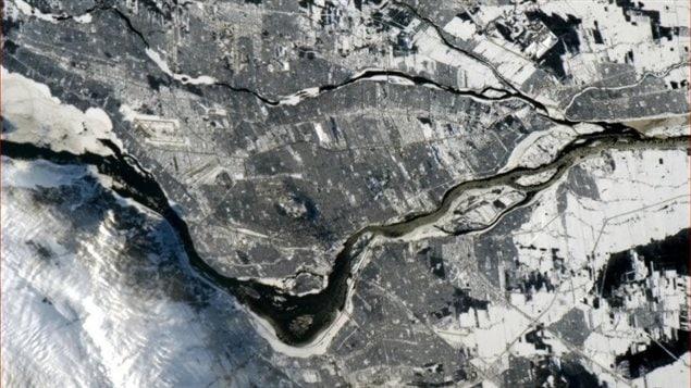 Une image de Montréal prise par Chris Hadfield