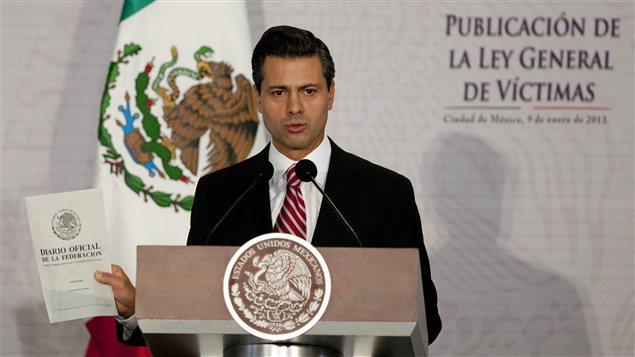 Enrique Pena Nieto, président du Mexique