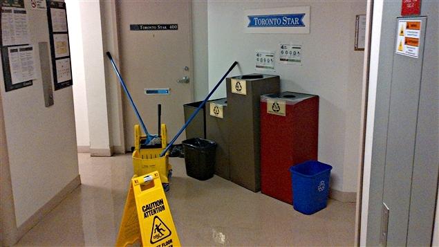 Nettoyage de bureau (archives)