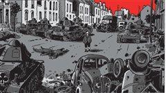Image tirée d'une planche de <em>Moi, René Tardi, prisonnier de guerre, Stalag II B</em>, de Jacques Tardi