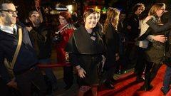 La chanteuse Ariane Moffatt sur le tapis rouge de l'ADISQ.