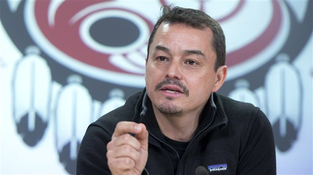 Shawn Atleo, chef national de l&#39;Assemble des Premires Nations