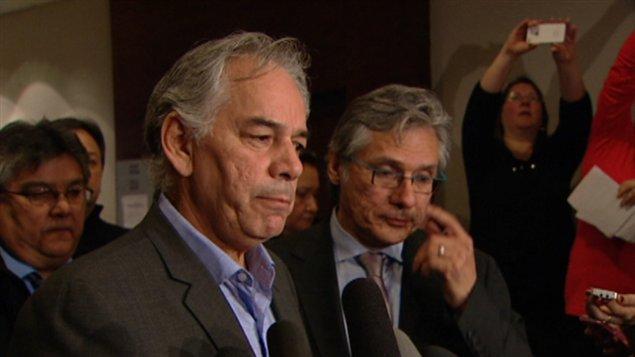 Le Chef de l'Assembl�e des Premi�res Nations du Qu�bec et du Labrador, Ghislain Picard