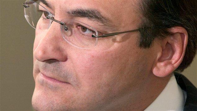 Martin Cauchon, en février 2004
