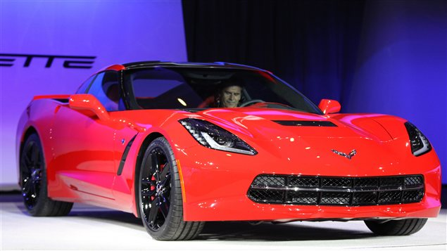 La nouvelle Corvette de General Motors